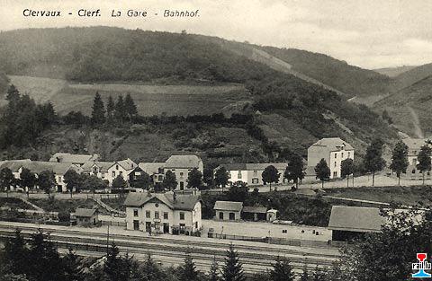 Cartes postales des chemins de fer luxembourgeois for Photographe clamart gare