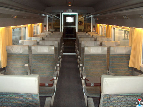 Le design by christian lacroix for Interieur tgv