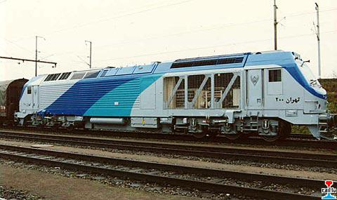 locomotive diesel électrique