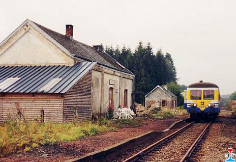 Ligne GL/EB 163: Libramont - Bastogne - Gouvy - St-Vith