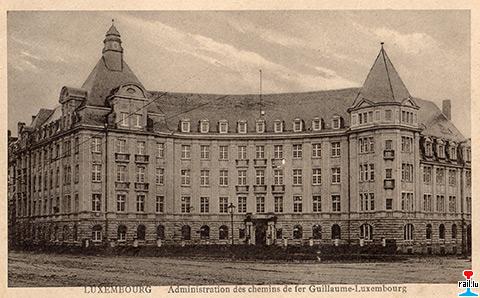 Gl guillaume luxembourg wilhelm luxemburg eisenbahnen wl 1857