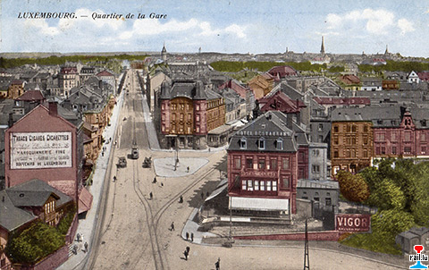 Ligne luxembourg echternach de chareli - Magasin avenue de la gare luxembourg ...