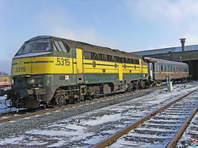 Locomotive Diesel Sncb S 233 Rie 53