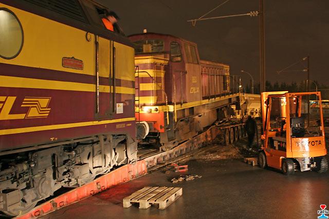 Ex cfl 853 909 910 911 for Depot laden