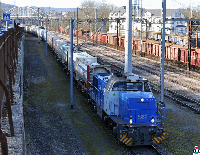 Train ciment luxembourg france zementzug luxemburg for Prix du ciment en france