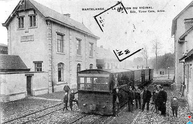 ligne sncv 516  marche - marloie - bastogne